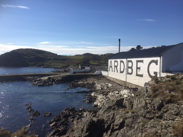 The Long Road to Ardbeg, Isle of Islay.